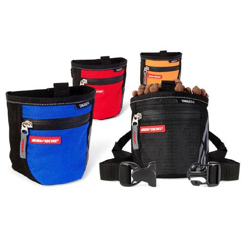 Black Dog Treat Bag