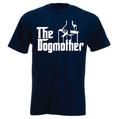Unisex T Shirt The Dogmother 100 Cotton