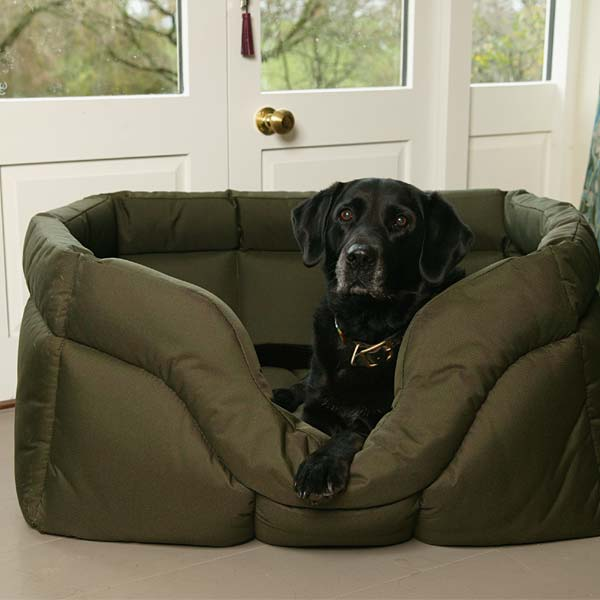 P&L Country Dog Waterproof Dog Bed - Rectangular